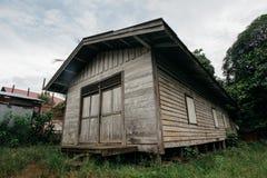 Chambre traditionnelle le Kalimantan Oriental images libres de droits