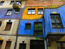 Chambre Vienne de Hundertwasser photo stock