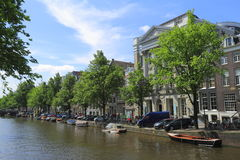 Chambres à Amsterdam, Hollande Image libre de droits
