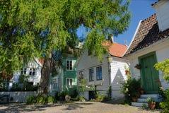 Chambres à Bergen Photos libres de droits