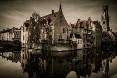 Chambres à Bruges, Belgique photos stock