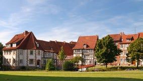 Chambres à colombage à Hildesheim, Allemagne Images stock