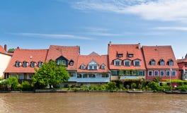 Chambres à peu de Venise, Bamberg Photo libre de droits