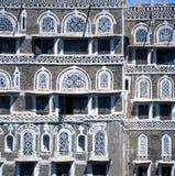 Chambres à Sanaa Yémen Photos libres de droits