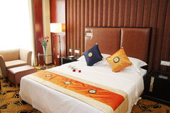 Chambres d'hôtel photo stock