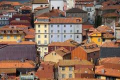 Chambres dans la vieille ville de Porto au Portugal Images libres de droits