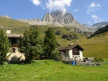 Chambres dans les montagnes 1 d'Engadine Image stock