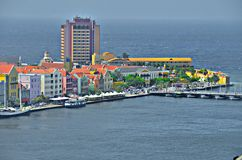 Chambres dans Willemstad, Curaçao image stock