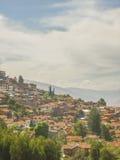 Chambres de Cusco dans les hautes Photo libre de droits