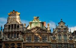 Chambres de Grand Place célèbre Images libres de droits