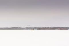 Chambres de grange en hiver 2 Photographie stock libre de droits