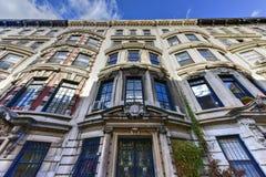 Chambres de maison de grès de New York City Photos stock