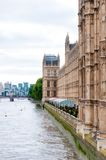 Chambres de palais Londres de Westminster du Parlement Photos libres de droits