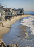 Chambres de plage, la Californie Photo stock