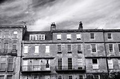 Chambres de ville de Bath Photos libres de droits
