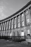 Chambres de ville géorgiennes à Bath Angleterre Photos stock