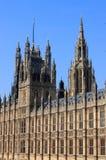Chambres du Parlement à Londres Image stock