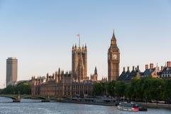 Chambres du Parlement à Londres photo stock
