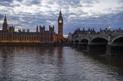 Chambres du Parlement à Londres Photographie stock