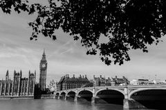 Chambres du Parlement à Londres Images stock
