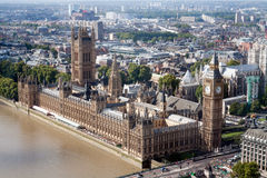 Chambres du Parlement Photos stock