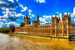 Chambres du Parlement Photographie stock libre de droits