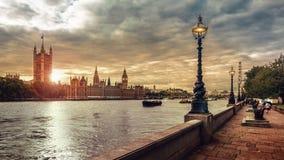 Chambres du Parlement et de grand Ben, Londres Photo stock
