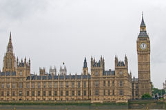 Chambres du parlement, grand Ben Images stock