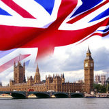 Chambres du Parlement - Londres images stock