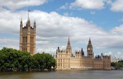 Chambres du parlement Londres Images libres de droits