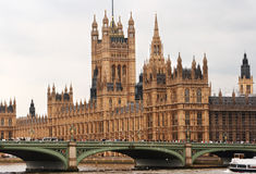 Chambres du Parlement. Londres, Angleterre Image stock