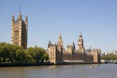 Chambres du Parlement, Westminster Images libres de droits