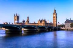 Chambres du Parlement, Westminster, Londres Image libre de droits