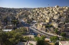 Chambres en capitale de la Jordanie d'Amman Photos stock