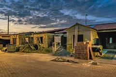 Chambres en construction de condominium Images stock