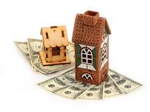 Chambres et dollars image libre de droits