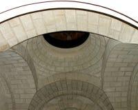 Chambres fortes dans Memorian du WWI dans Marasesti Mausoluem Image libre de droits
