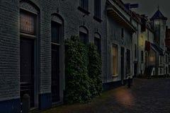 Chambres néerlandaises typiques de brique Photographie stock libre de droits