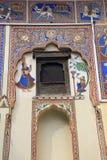 Chambres peintes de Mandawa photos stock