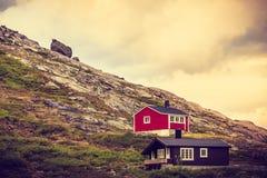 Chambres près de centre de Trollstigen photo libre de droits