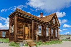 Chambres ruinées dans une ville fantôme américaine Photo libre de droits