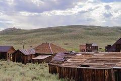 Chambres ruinées dans une ville fantôme américaine Photographie stock libre de droits