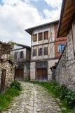Chambres traditionnelles de tabouret dans Safranbolu Photos stock