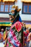 Chamdans i Lamayuru Gompa i Ladakh, norr Indien Royaltyfria Foton