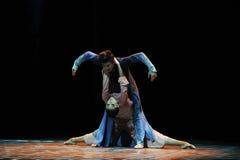 Chame o salvador do mundo - O terceiro ato de eventos do drama-Shawan da dança do passado foto de stock