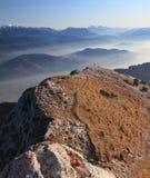 Chamechaude Gipfel Stockbild