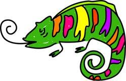 Chameleon royalty free illustration