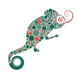 chameleon stock illustratie