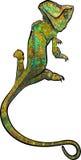 chameleon royalty-vrije illustratie