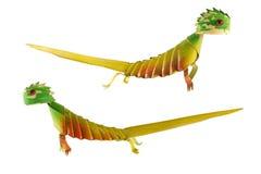 Chameleon artificiale Immagine Stock Libera da Diritti